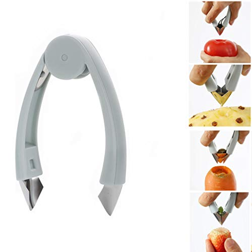 Kasmena StemGem Strawberry Huller Stem Remover Potatoes Pineapples Carrots Tomato Corer