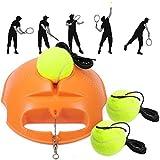 Fostoy Entrenador de Tenis, Tennis Trainer Set Trainer Baseboard con 3 Bolas de Rebote,...