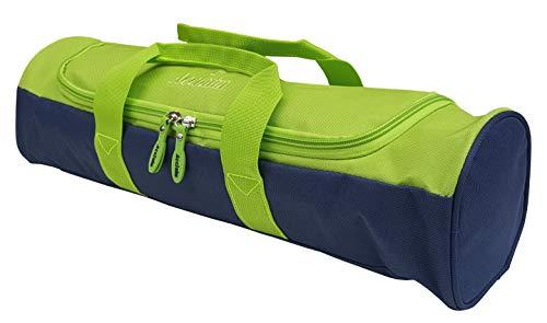 Acclaim Oban - Bolsa de tazones de Nailon con Cuatro Niveles, Color Verde, Acid Green/Navy Blue