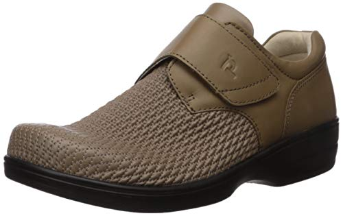 Propét Olivia - Zapatillas para Mujer, Color Beige, Talla 37 EU XX-Weit