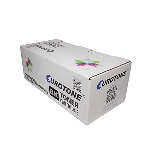 1x Eurotone Toner für Lexmark Optra T 640 644 wie 0064036HE 064036HE Black