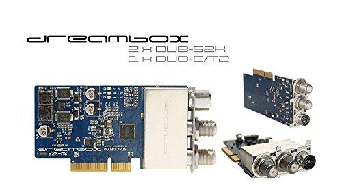 Dreambox Triple 2X DVB-S2 / 1x DVB-C/T2 MultiStream Tuner Silber