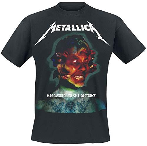 Metallica Hardwired...To Self-Destruct Camiseta Negro S