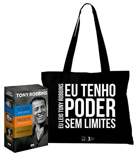 Box Tony Robbins (Acompanha Ecobag) - Exclusivo Amazon