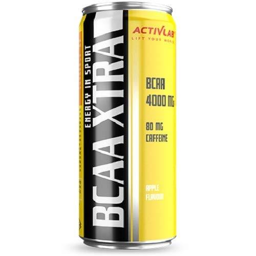 Activlab BCAA Xtra Drink + Caffeine Apple - 24 Unidades
