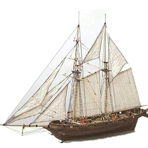 Kit de construcción de maquetas para barcos de madera modelo de decoración para el hogar boat puzles juguetes de bricolaje barcos kit de construcción de maquetas