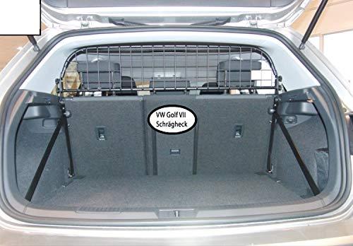 Kleinmetall Masterline VW Golf VII Schrägheck 3+5-türer passgenaues Trenngitter/Hundegitter/Gepäckgitter