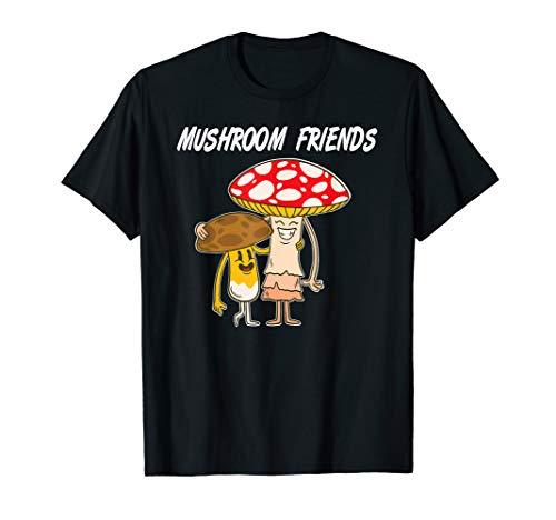 Pilzfreunde, Pilze Pilzsammler, Hobby Natur Geschenk T-Shirt