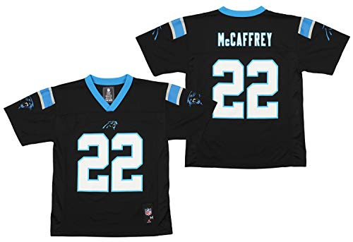 OuterStuff NFL-Spieler-Trikot für Jugendliche und Kinder, Jungen, Carolina Panthers Christian Mccaffrey, Large (14/16) US