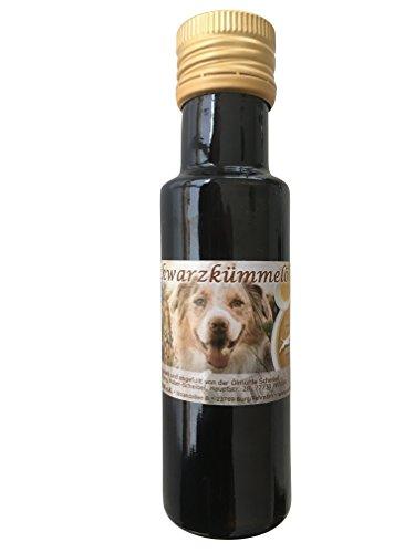 amberdog Schwarzkümmelöl Hund gegen Zecken/Nigella Sativa 100ml extra mild/für Hunde