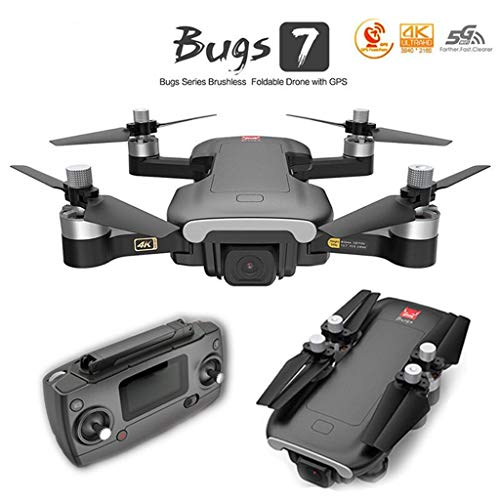 Fytoo Drone MJX B7 con Fotografia Aerea 4K HD, Posizionamento GPS a Flusso Ottico / Piccolo Mini quadricottero Pieghevole