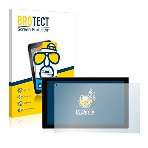 BROTECT 2X Entspiegelungs-Schutzfolie kompatibel mit Blaupunkt Endeavour 101M Bildschirmschutz-Folie Matt, Anti-Reflex, Anti-Fingerprint