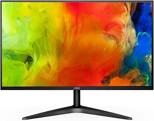 23.8' AOC 24B1XHS VGA/HDMI 1080p LED Monitor, Black (Renewed)