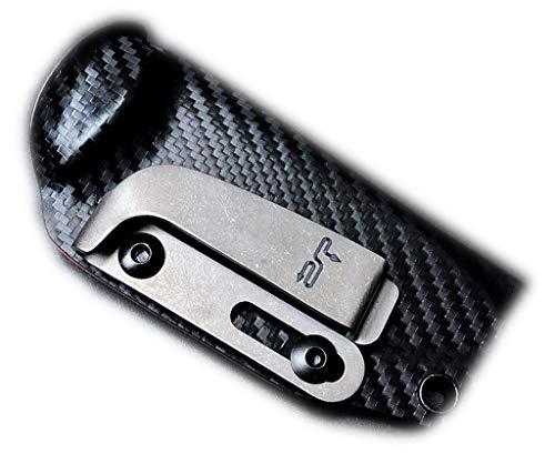 K-SHEATH CLIP- Neuer Clip aus Titanlegierung für die Kydexscheide (Linke Seite)
