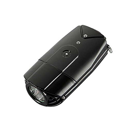 Pawaca 2 in 1 Ultra Bright Touch Sensor Bike Light Fiets Koplamp Helm Licht Met USB Oplaadbare Helm Licht (Zwart)