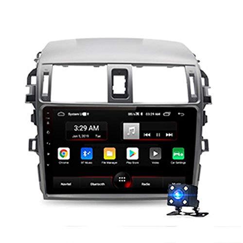 KLL 10.1' HD Android 9.0 4G Reproductor de Video Multimedia Navegacion GPS de Coche 2G 32G Ajuste para Corolla E140 E150 2006-2013 Radio de Coche 2 DIN no DVD