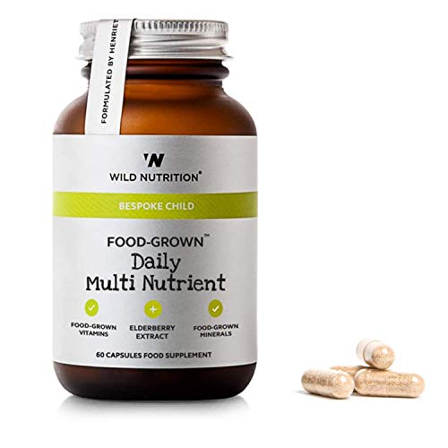 Wild Nutrition – Bespoke Child – Natural Food-Grown Daily Multi Nutrient – 60 Capsules