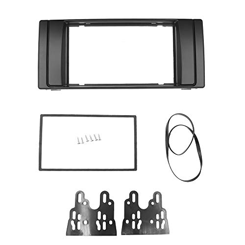 Piezas de automóvil Double 2 DIN Radio Fascia Para BMW X5 (E53) 5 (E39) PANEL FACIA STEREO RADIO DVD DVD CD Kit Kit Adaptador De Ajuste Bisel (Size : 178 x 98mm)