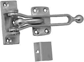 Pack of 10 Don-Jo 1603 Aluminum Ball Bearing Door Flip Guard with Black Rubber Shim Satin Brass Finish