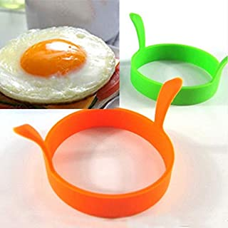 Aalborg125 Pancake Rings Round Breakfast Silicone Egg Molds Pancake Cooking Tools Kitchen Accessories
