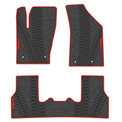 Mejor Plasticolor Jeep Weatherpro 4 Pc. Floor Mat Set crítica 2020