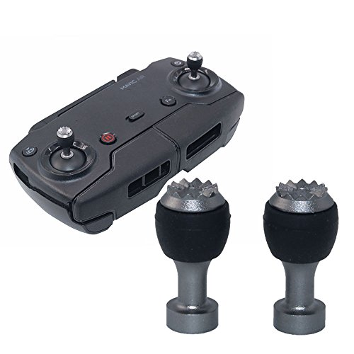 Tercel 2pcs Remote Controller Joystick Stick for DJI Mavic Mini/Mavic 2 Pro Zoom/Mavic Air Drone,Transmitter Metal Thumb Replacement Control Rocker