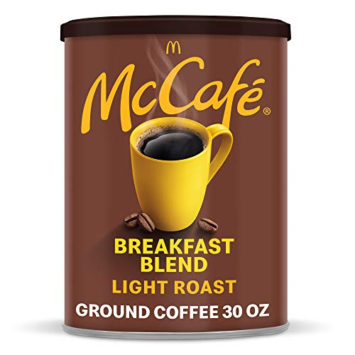 McCafé Breakfast Blend Light Roast Ground Coffee (30 oz Canister)