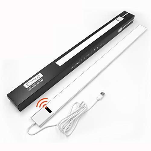 EZVALO LED Unterbauleuchte mit Sensor I 0.6M Ultra dünn Schranklicht Dimmbar I Unterschrankleuchte Küche Licht Bewegungsmelder I 5.9W Naturweiß 4000K Schrankbeleuchtung I Schrankleuchten (1 Stück)