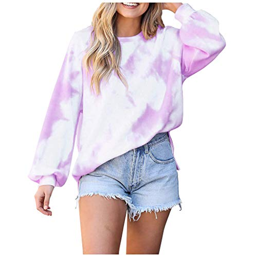 For Sale! Toimothcn Women's Sweatshirts Casual Camouflage Print Crewneck Long Sleeve Loose Pullover ...