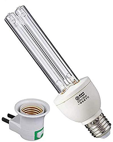 Desinfectie Lamp Sterilisatie Lamp UV-lampen E27 UVC Anti-bacteriële 100% Portable UVC LED Sanitizer Ontsmet Light verhuisboedels Sterilisatie Light 25W-Ozon, Maat: 25W-Ozone (Size : 25W-Ozone)