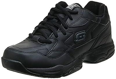 cb16bda4e528 Skechers for Work Women s 76555 Albie Relaxed-Fit Walking Shoe