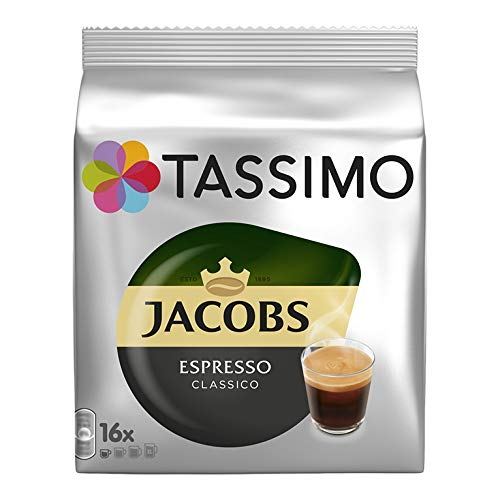"""Tassimo Jacobs """"Espresso"""" X 5 Pack (80 Pods)"""