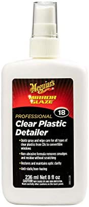 Meguiar's M1008 M10 Mirror Glaze Clear Plastic Polish - 8 oz.