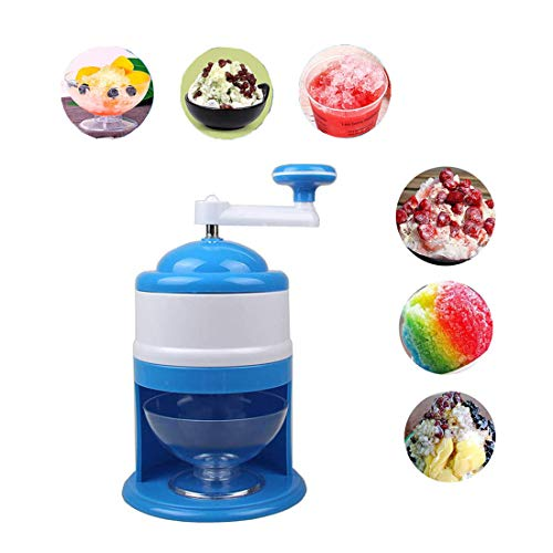 QWASZX Ice Crusher, Home Ice Blender Mixer, gewerblich, mit Rutschfester Basis, Klinge aus rostfreiem Stahl, perfekt für Ihre Lieblingscocktails