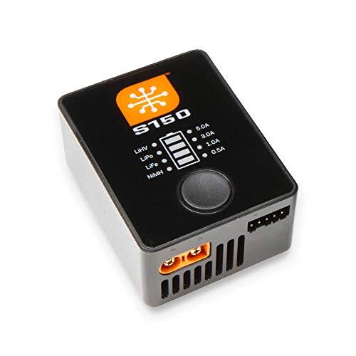 Spektrum Smart S150 AC/DC RC Battery Charger (LiPo, LiIon,LiHV, NiMH), 1x50W: SPMXC1070,Black