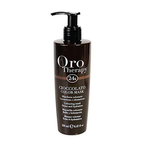 Chocolate - Cioccolato Colouring Mask Oro Therapy  24k Shine and Hydration 250ml Maschera Colorante Lucentezza e Idratazione