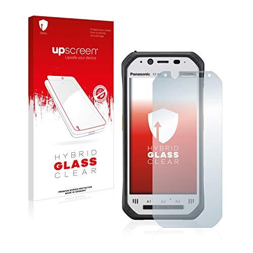 upscreen Hybrid Glass Panzerglas Schutzfolie kompatibel mit Panasonic Toughpad FZ-N1 9H Panzerglas-Folie