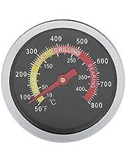 Roestvrijstalen BBQ-thermometer met Fahrenheit en warmte-indicator Temperatuurmeter voor barbecuekoken