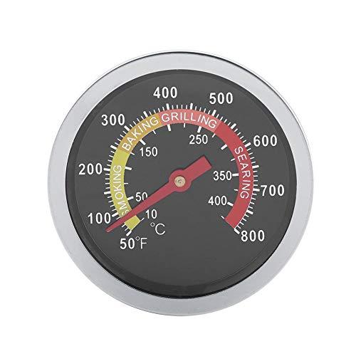 Termometro per Barbecue Termometro da Lettura Istantanea Digitale in Acciaio Inossidabile 50~800 ℉ Temperatura Della Cappa Rotonda per la Cottura Al Barbecue