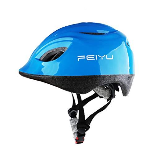 Nieuwe Roller Schaatsen Helm Kinderfiets Helm Verstelbare Skateboard Mannen En Vrouwen Helm Blauw