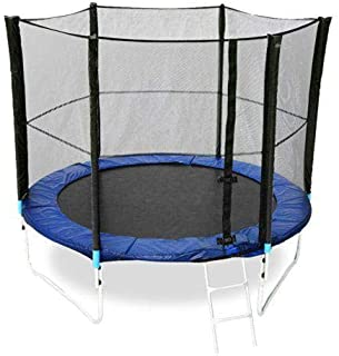 Rainbowtoy Trampoline 8FT With Safety Net - 8 feet / 244 cm - Diameter For Kids Activity rbw10066t8.