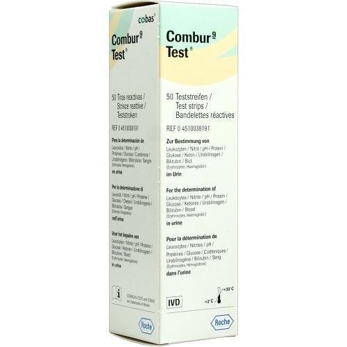 COMBUR 9 Test Teststreifen 50 St by EurimPharm Arzneimittel GmbH