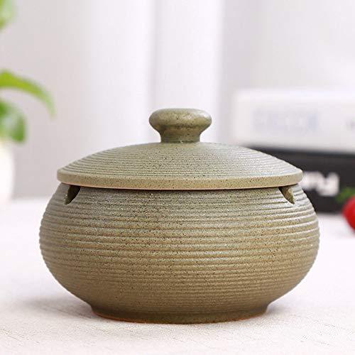 YHWW Cenicero creativo Modo keramik glas aschenbecher hotel