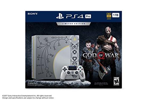 PlayStation 4 Pro - 1TB - Ensemble God of War en Édition Limitée - 1