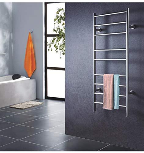 Soporte de pared Calentador de toallas y Tendedero, eléctrico Calentador de toallas...