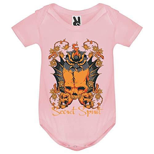 LookMyKase Body bébé - Secret Spirit - Bébé Fille - Rose - 9MOIS