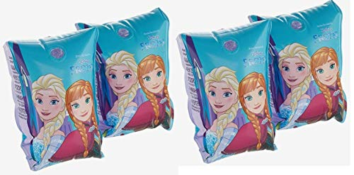 BWR Schwimmflügel Disney Die Eiskönigin Anna und ELSA aufblasbar, für Kinder im Alter von 3–6 Jahren