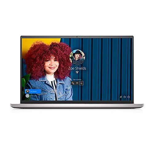 "Dell Inspiron 15-7501 Intel Core i7-10750H Ordinateur Portable 15,6"" Full HD Silver 8Go de RAM SSD 512Go NVIDIA GeForce GTX 1650 Ti Windows 10 Home Clavier AZERTY Français"