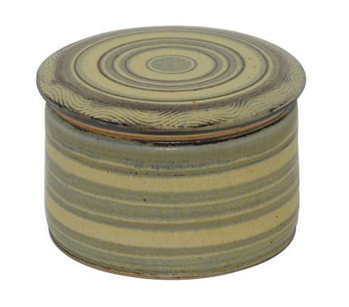 Original französische wassergekühlte keramik butterdose, nie mehr harte butter zum frühstück, ca 250 g butter, AG-29 Z-G