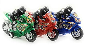 Motorcycle Toys for Boys Friction Powered Play Toy Motorcycle Set Three Pack of Toy Motorcycles for Boys and Girls Battery-Free Toddler Toys for Boys and Girls